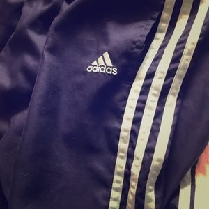 Adidas e-stripe Blue/Baby Blue Womens Size Large